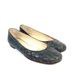 Cole Haan Collection Weave Flats